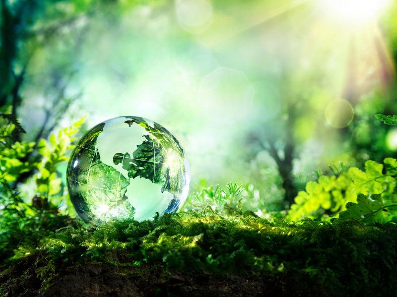 géobiologie - crystal globe